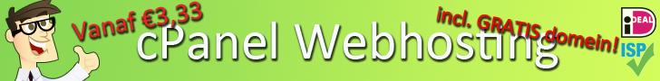 Phost.nl kwaliteit cPanel webhosting