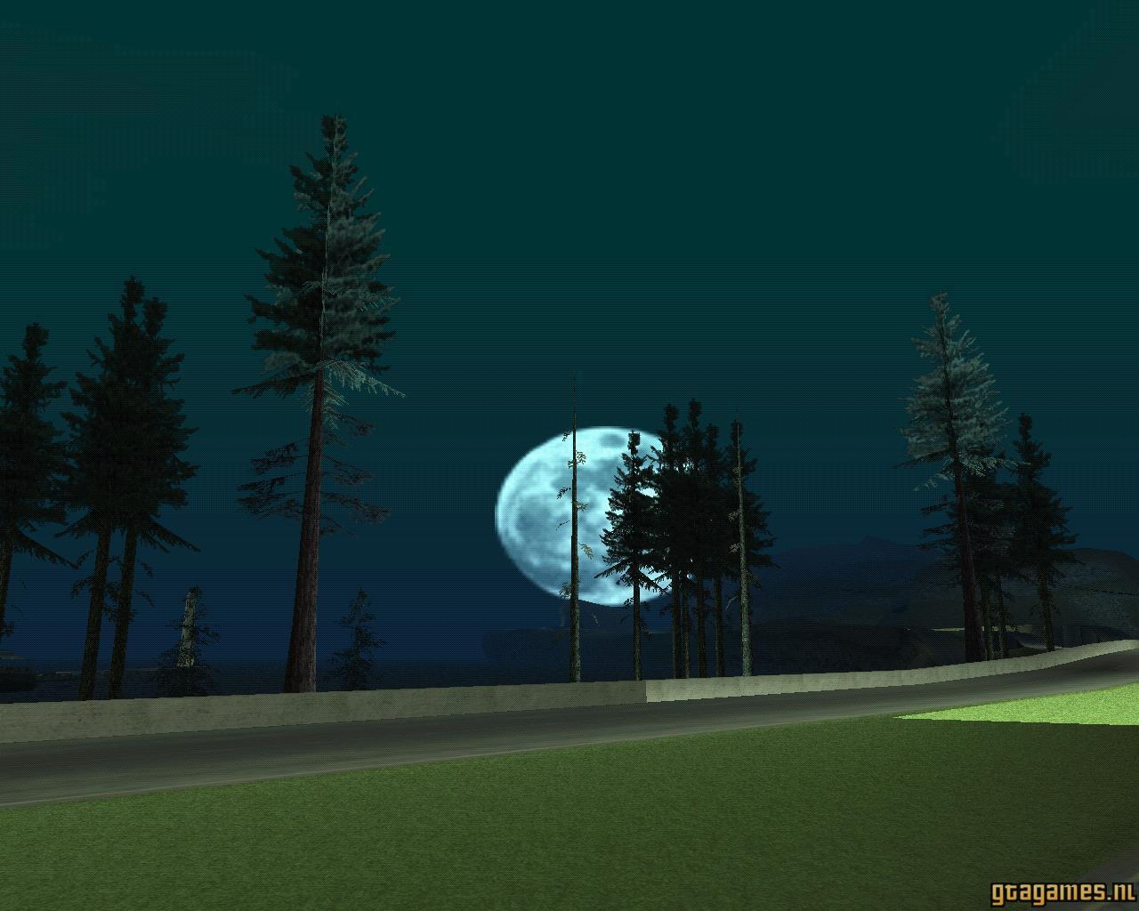 Badlands Maanlicht