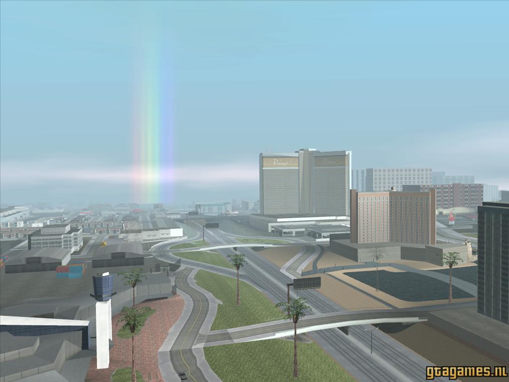 Rainbow at Las Venturas