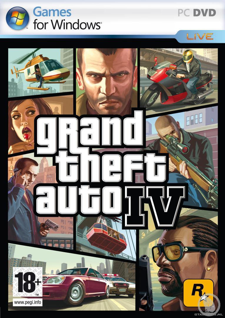 Grand Theft Auto IV PC Cover