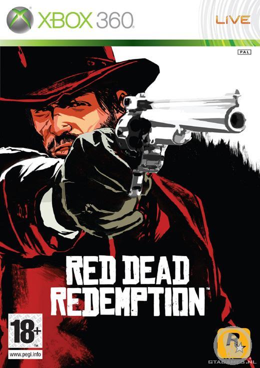 Oude versie Red Dead Redemption voorkant