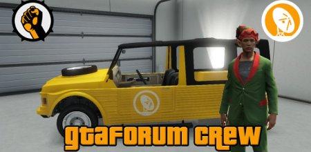 Sluit je aan bij de GTAForum Social Club Crew