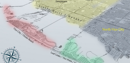 Gerucht: 'Conceptmap van GTA VI opgedoken'