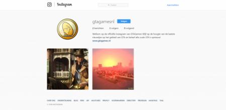 Volg GTAGamesnl op Instagram