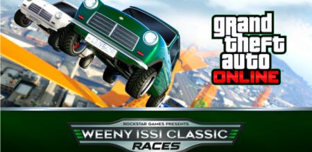 Nieuwe Weeny Issi Classic races op GTA Online