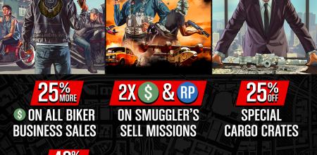 GTA Online: fijne bonussen, flappen en extra kortingen!