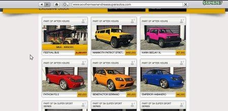 Oude voertuigen vanaf nu te koop op GTA Online
