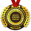 beste award badge 2012