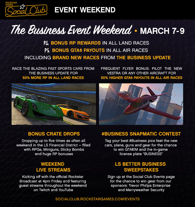 Business Event Weekend
