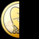 Half logo