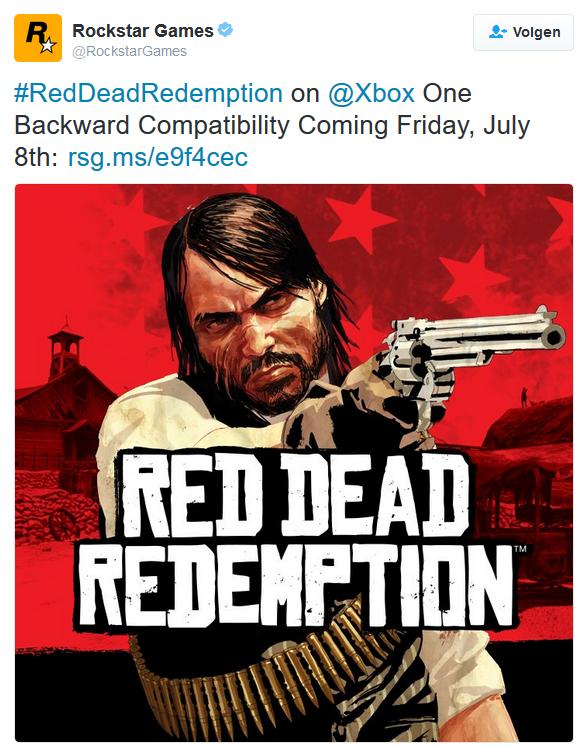 Read Dead Redemption R* Tweet