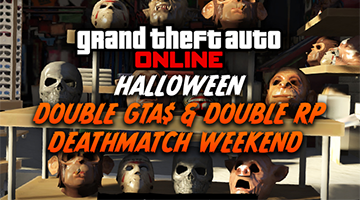 Dit weekend is het GTA Online Halloween Weekend!