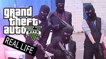 GTA Online Heists in Real Life nagespeeld!
