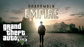 Boardwalk Empire Intro nagemaakt in GTA5