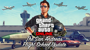 San Andreas Flight School update komt morgen naar GTA Online!