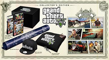 GTA5 Special Edition en Collector's Edition Details bekend!