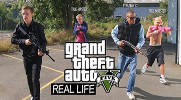 GTA Online in Real Life nagespeeld!