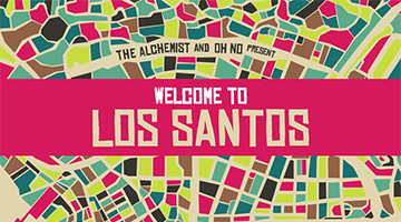 Album The Alchemist and Oh No Present: Welcome to Los Santos nu uit!