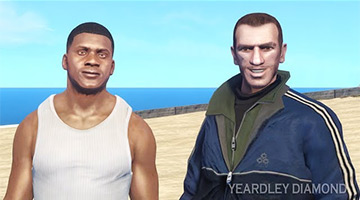 Niko Bellic in GTA5
