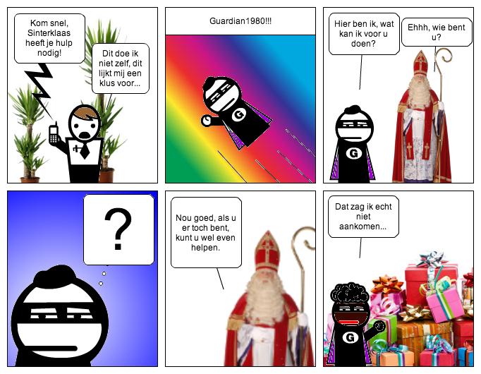 Guard's Comics - Sinterklaas