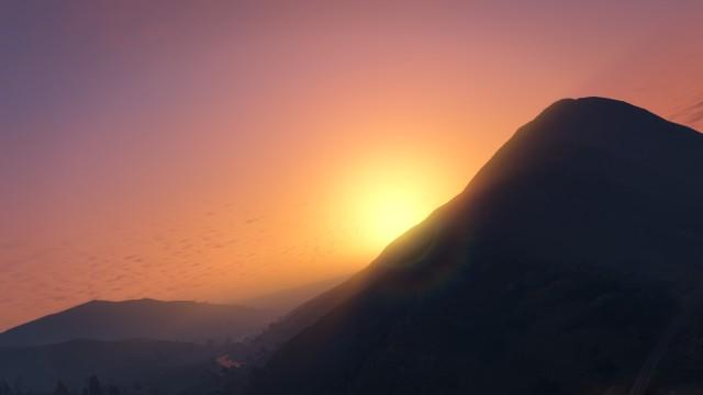 De zonsondergang in gta 5!