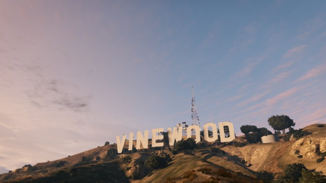 The Vinewood Sign