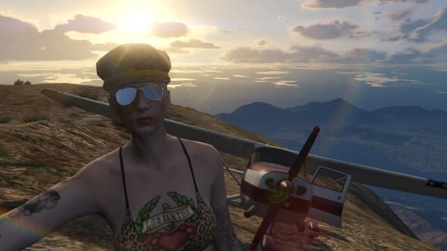 selfie Mt Chilliat