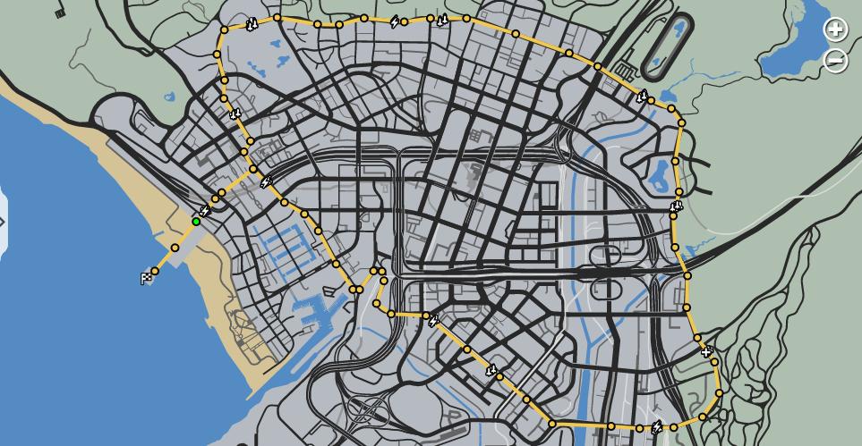 Pier 2 Pier map